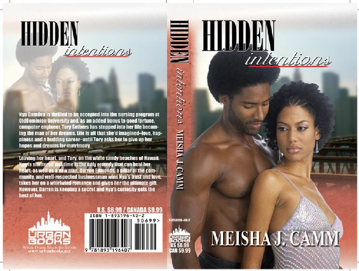 Hidden Intentions Author Meisha J Camm